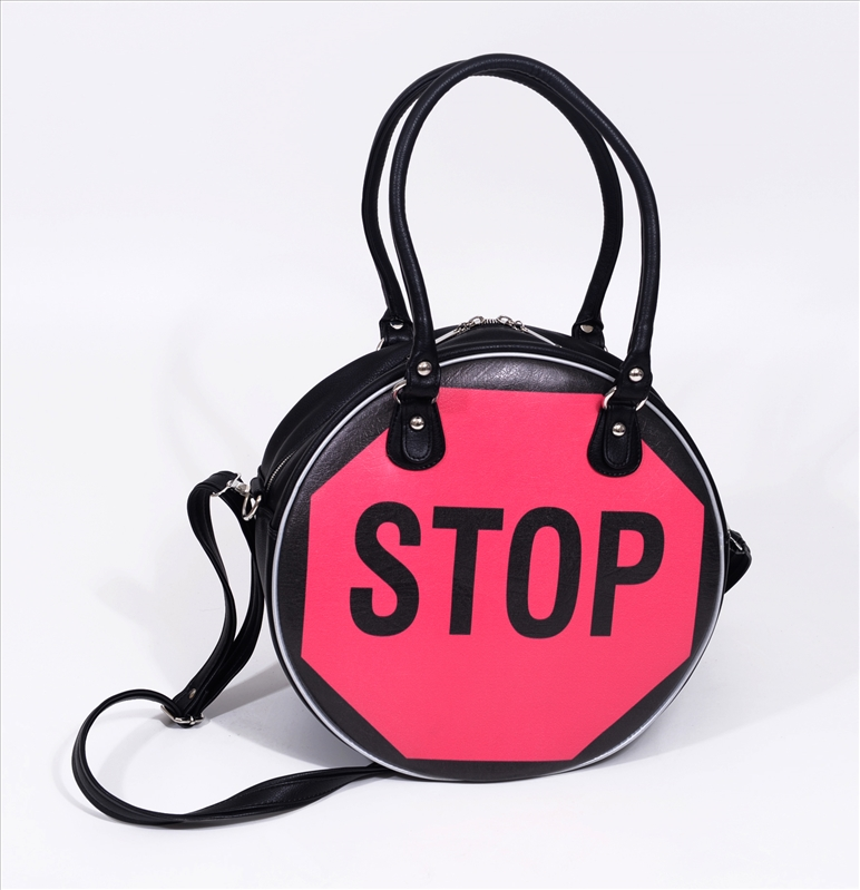Big Bag STOP (Fushia /Noir)