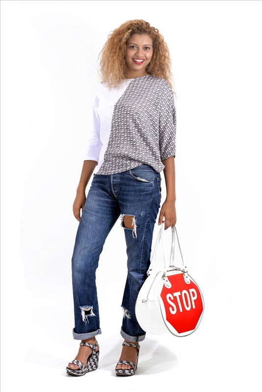 Big Bag Stop (Rouge/Blanc)